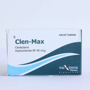 Clenbuterol hydrochloride (Clen) in USA: low prices for Clen-Max in USA